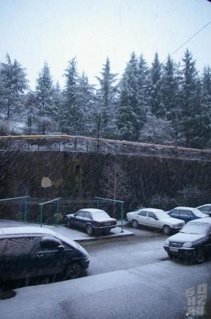 Снегопад 19.03.2010
