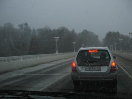 Долгожданный снегопад